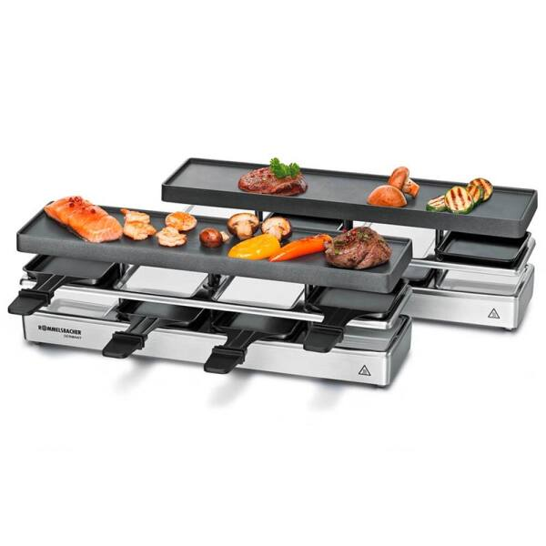 Rommelsbacher Raclette Grill Set RC 1600